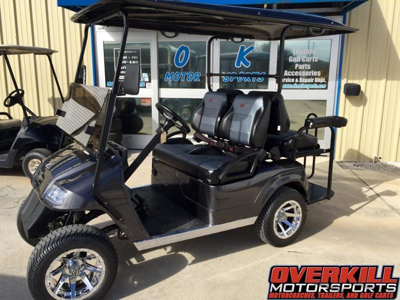2018 STARev Classic 48v Electric SS Limited Golf Cart 4-Passenger