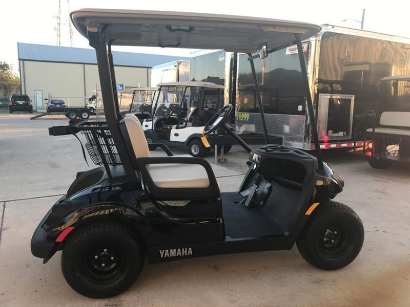 2018 Yamaha Drive2 Ptv Quietech Gas Golf Cart Efi 2 Passenger