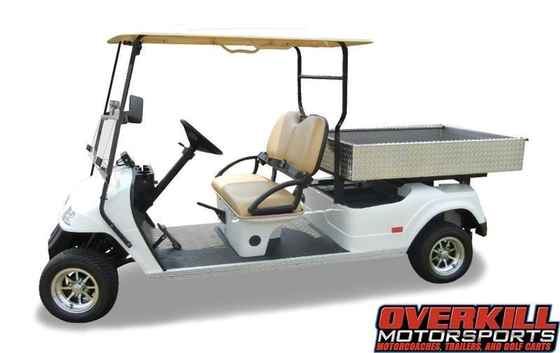 2018 STARev 48-2HCX Electric Utilty Golf Cart w/ Dump Box 2-Passenger