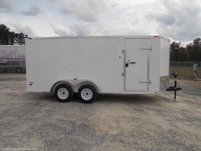 2018 Freedom Trailers FD 7X14TA2-VN+12 Enclosed Cargo Trailer