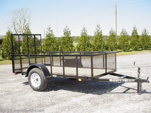 2018 Carry-On CO 5X10GWHS Utility Trailer