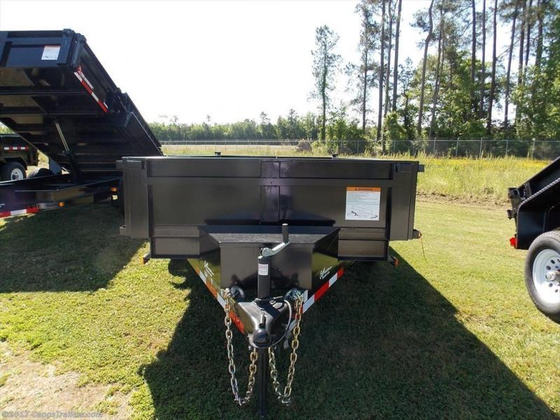 2018 Carry-On CO 6x12 - 10K LP - Ramps Dump Trailer