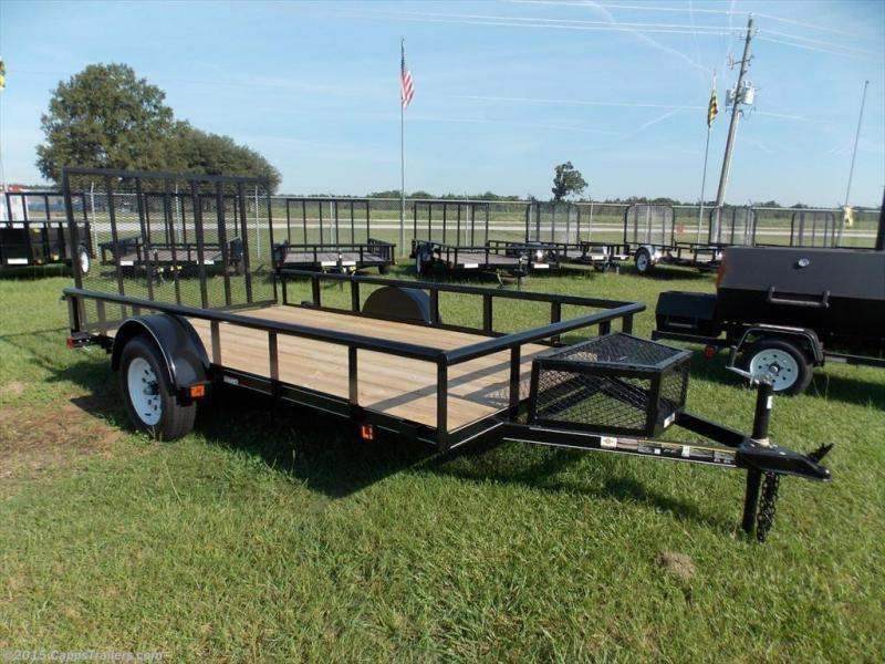 2018 Carry-On 6X12GWPTLED Utility Trailer