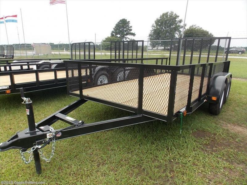 2018 Carry-On CO 6x16GWHS1BRK Utility Trailer
