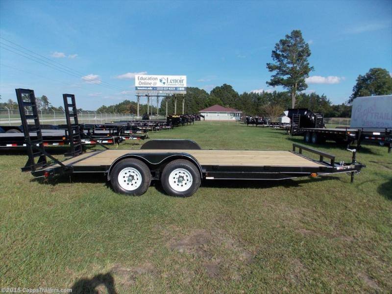 2018 Carry-On CO 7X18HDEQDTFR 18' Car Hauler