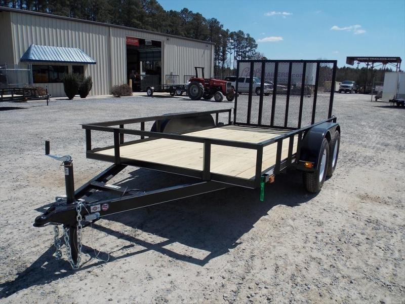 2018 Carry-On CO 6X12GW1BRK Utility Trailer