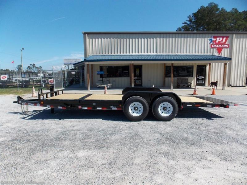 2017 PJ Trailers TJT2082BTTKT Vehicle Tilt Deck