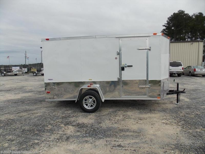 2017 Freedom Trailers FD 6X12SA-VNRD MCPKG Enclosed Cargo Trailer