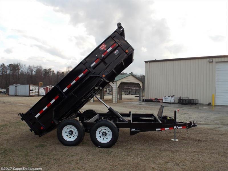2018 PJ Trailers D7A1272BSSKPT Truck Bed