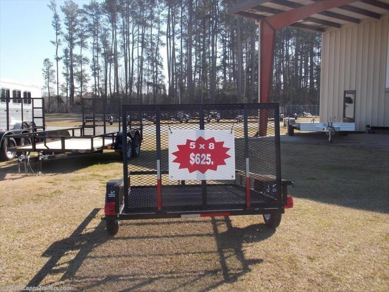 2018 Carry-On CO 5X8G Utility Trailer