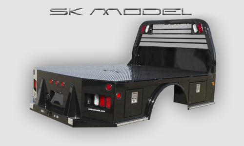"""2016 CM Truck Bed model SK 8'6""""x97x56x38 Fits Ford dually"""