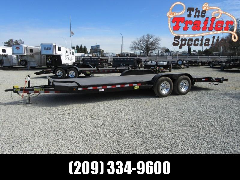 New 2018 Big Tex 10DM-22 7x22 10K Car / Racing Trailer Vin11080
