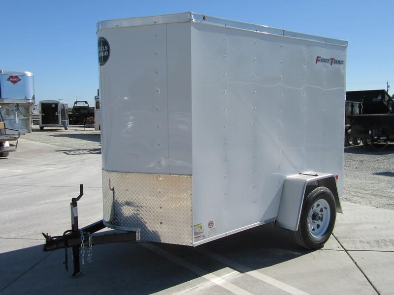 New 2017 Wells Cargo FT581 5x8 Enclosed Cargo Trailer Vin 52439