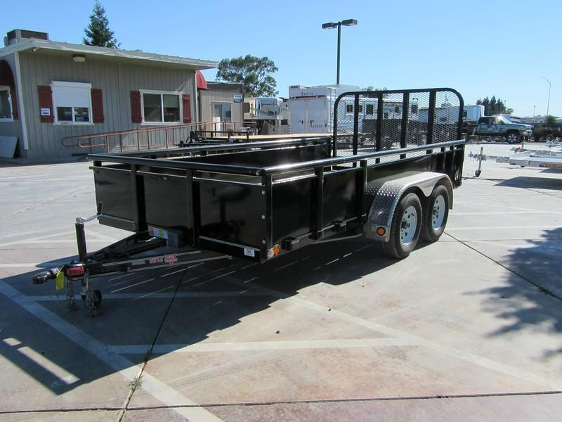 Preowned 2015 PJ Trailers 8314 7x14 Utility Trailer