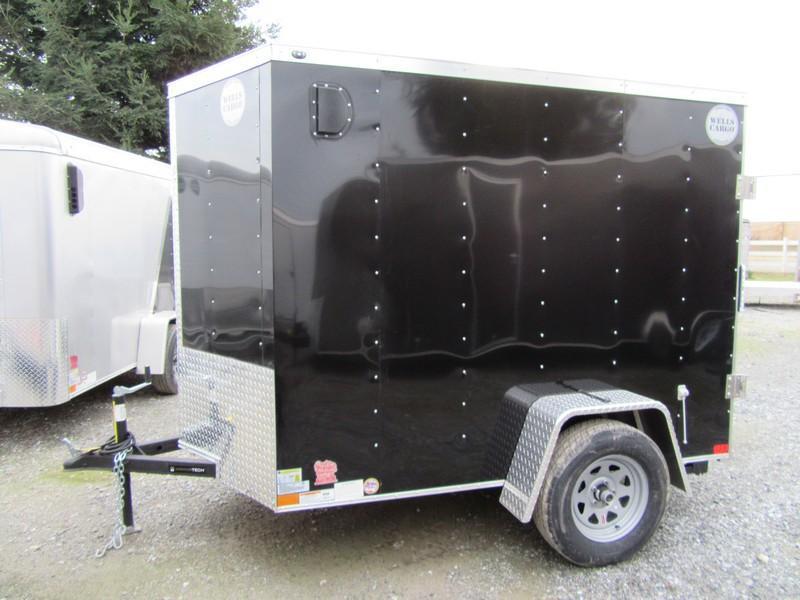 New 2018 Wells Cargo WCVG58S 5x8 Enclosed Cargo Trailer Vin 59598