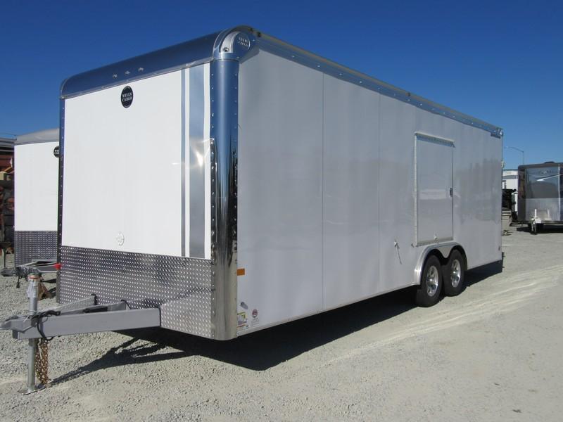 2017 Wells Cargo RFRT85X2424 8.5x24 Enclosed Cargo Trailer VIN 44949