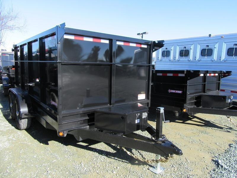 New 2018 Five Star DT262 6x12 10k Dump 4' sides VIN32563