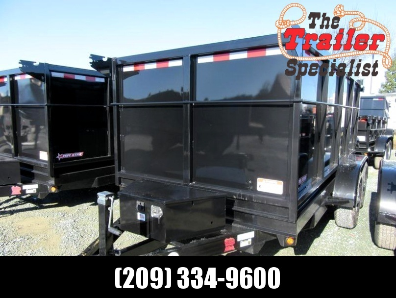 New 2018 Five Star DT262 6x12 10k Dump 4' sides VIN32466