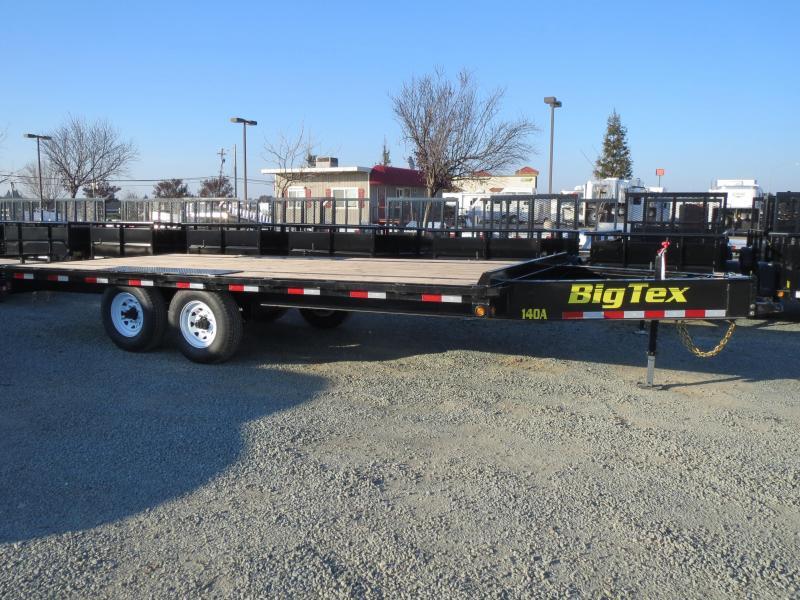 NEW 2017 Big Tex 14OA-18SIR 8.5x18 Equipment Trailer VIN:61420