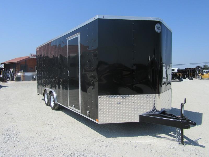New 2018 Wells Cargo FT85202 8.5x20 Enclosed Cargo Trailer Vin 53219