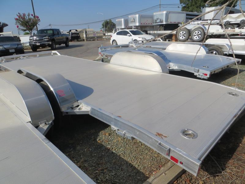 "2017 Aluma 8220HB 82""x20'10400 GVW Car Trailer Vin: 46129"
