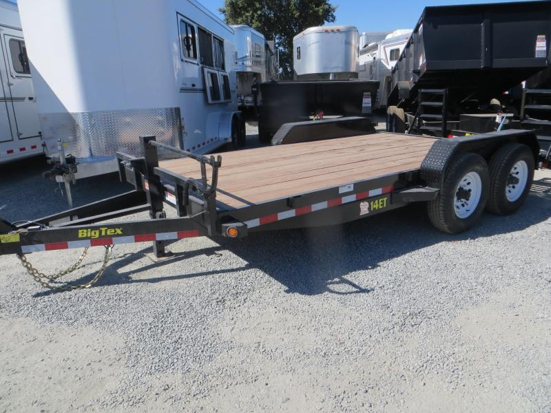 "2016 Big Tex Trailers 14ET-16KR Equipment Trailer 83""x16' Vin 71649"