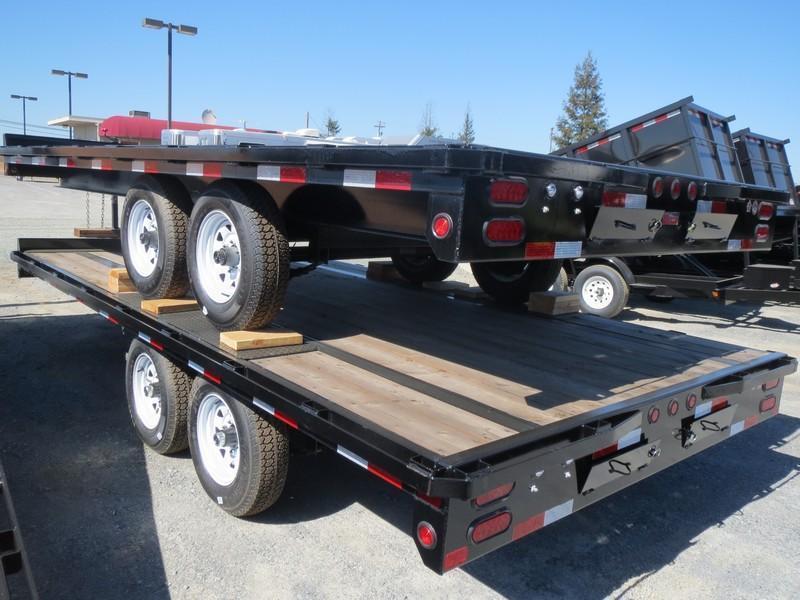 2017 Big Tex 10OA-16SIR Flatbed Trailer 8.5x16 VIN41831