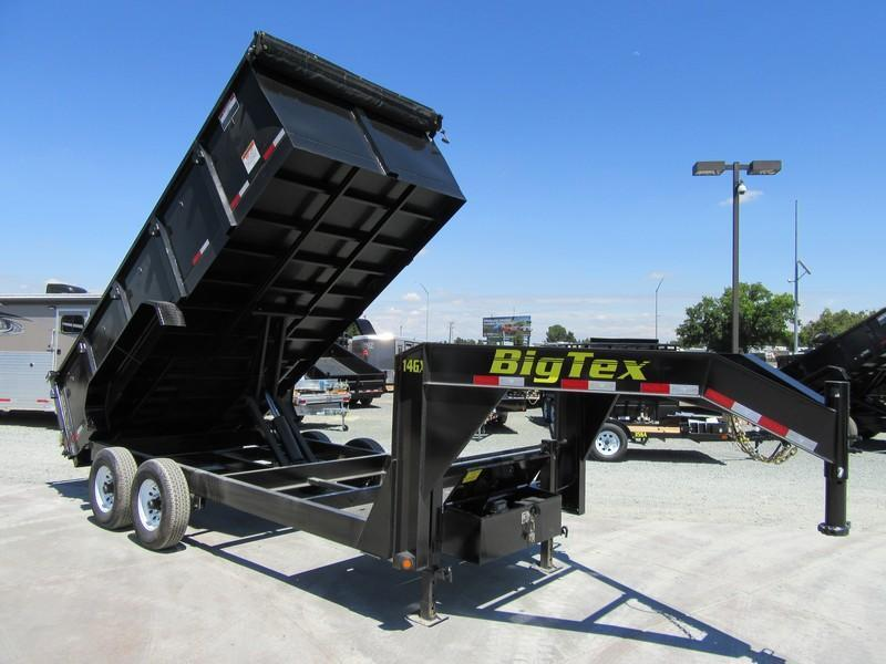 New 2017 Big Tex Trailers 14GX-16P3 Dump Trailer 14K GVW VIN:60137