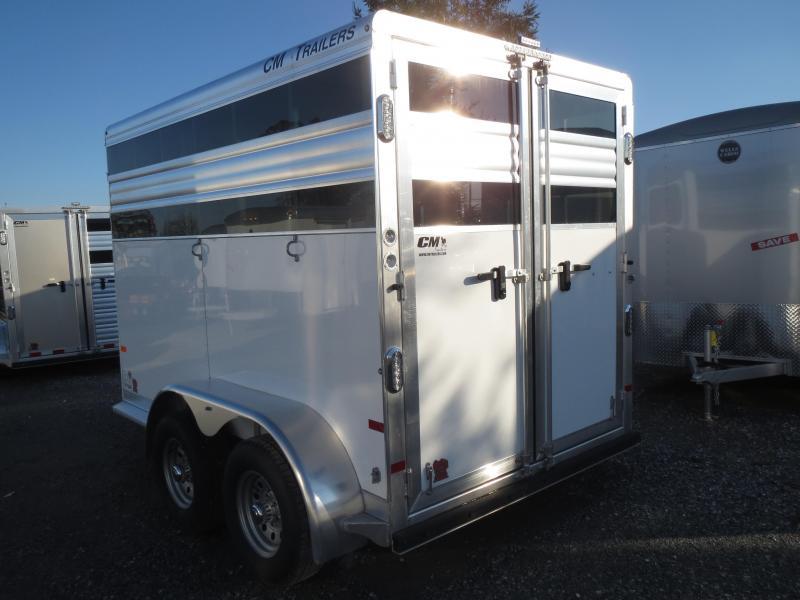 2016 CM Fastback 2H Horse Trailer VIN:18777