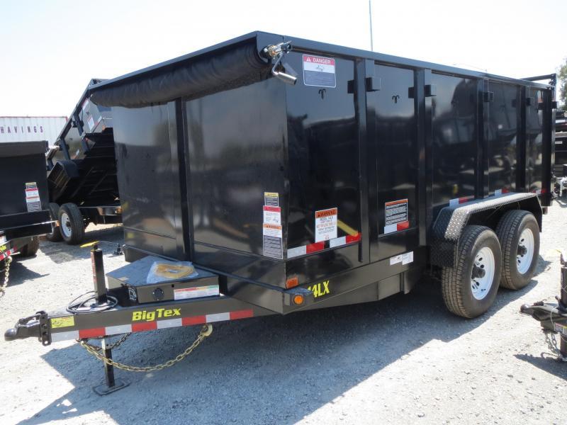 New 2018 Big Tex 14LX-14P4 4' sides Dump Trailer VIN:03963