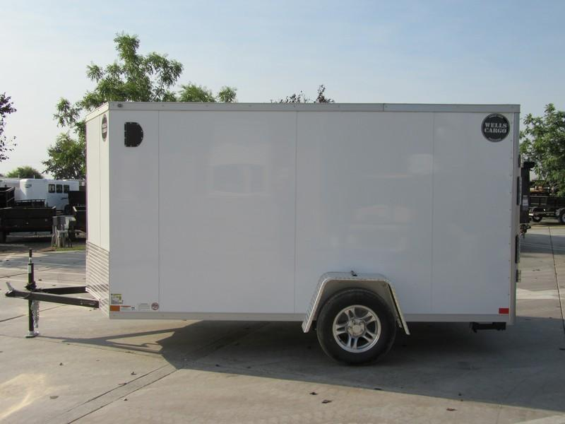 2018 Wells Cargo WCVG612S 6x12 500 series pkg Enclosed Cargo Trailer Vin 51684