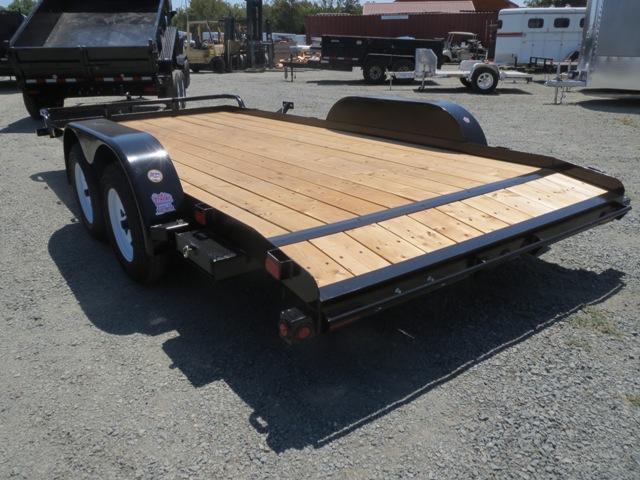 NEW 2017 Big Tex 70CH-16BRK2DT 7x16 Car / Racing Trailer Vin39790