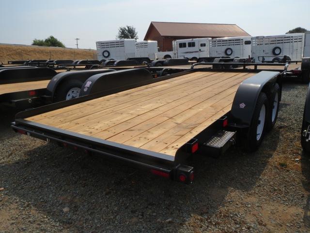 2018 Big Tex 70CH-16 7x16 7K GVW Car Hauler Trailer Vin: 97829
