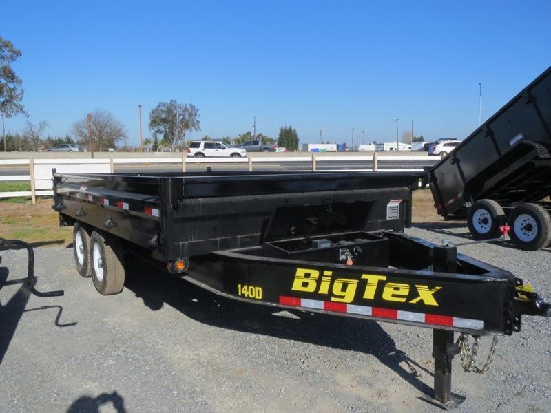 2016 Big Tex Trailers 14OD-14 Dump Trailer 8.5'x14' 14k GVW:72401