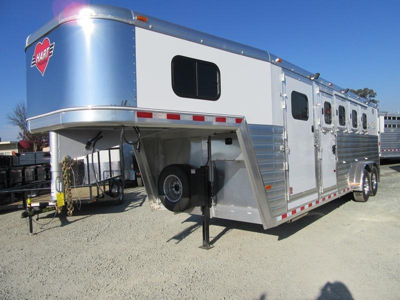 New 2017 Hart Tradition 4H GN Horse Trailer VIN 51067