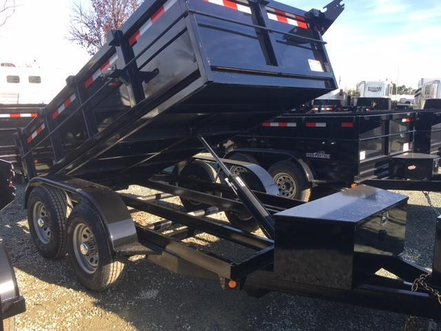 New 2018 Five Star DT255 5x10 10K GVW Dump Trailer VIN:32510