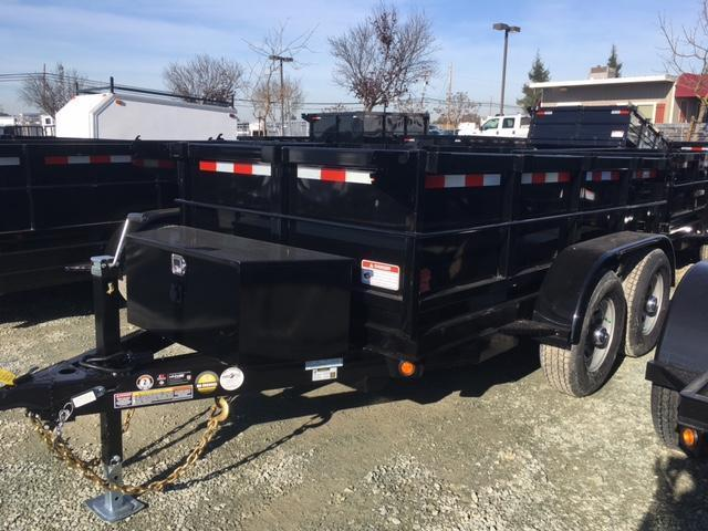 New 2018 Five Star DT255 5x10 10K GVW Dump Trailer VIN:32256
