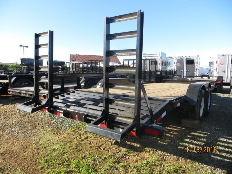 New 2018 Big Tex 10ET-20KR 7x20 10K GVW Equipment Trailer Vin:95492