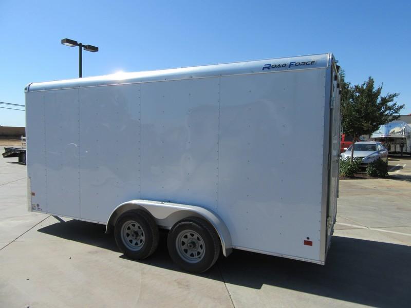 New 2017 Wells Cargo RF7x162 7x16 Enclosed Cargo Trailer VIN44947
