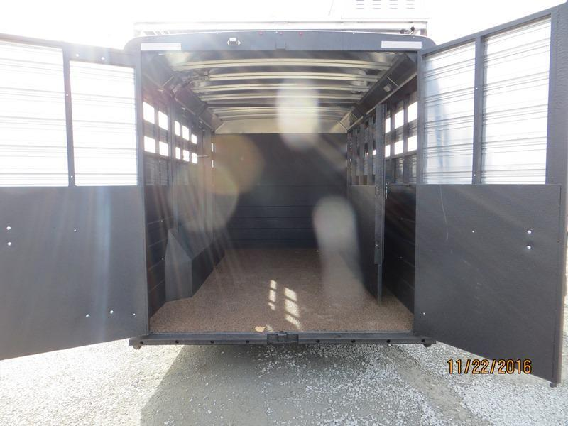 2017 Logan 812 Limited 14' Stockcombo LQ Trailer Vin:04906