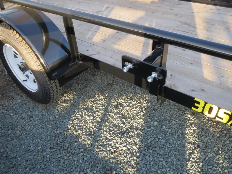 New 2017 Big Tex 30SA-12 5x12 Utility Trailer Vin 62740