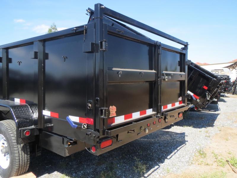 New 2017 Big Tex 14LX-16P3 Dump Trailer 7x16 14k VIN:68779