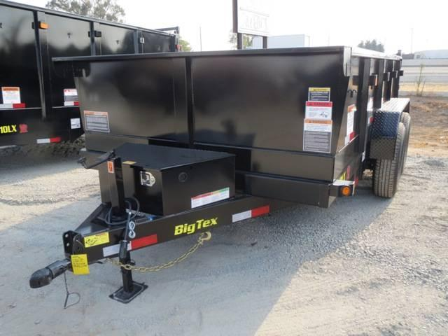 New 2018 Big Tex 10LX-12 7X12 Dump Trailer VIN:03169