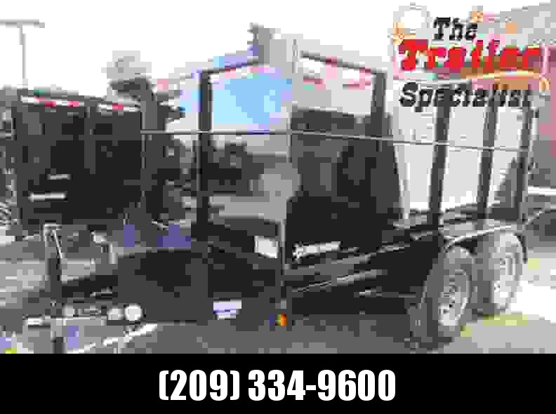 New 2018 Five Star DT260 6x12 7k Dump 4' Sides VIN32409