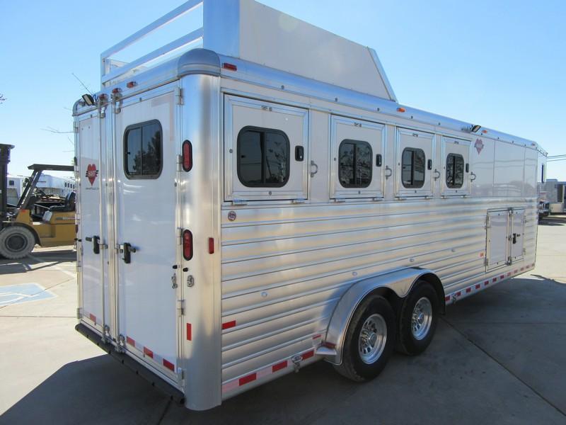 New 2017 Hart Tradition 4H Horse Trailer w/Smart Storage pkg Vin51072