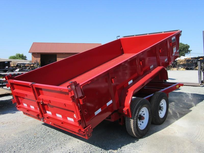 New 2017 Big Tex 14LX-14 14K GVW Dump Trailer VIN93709
