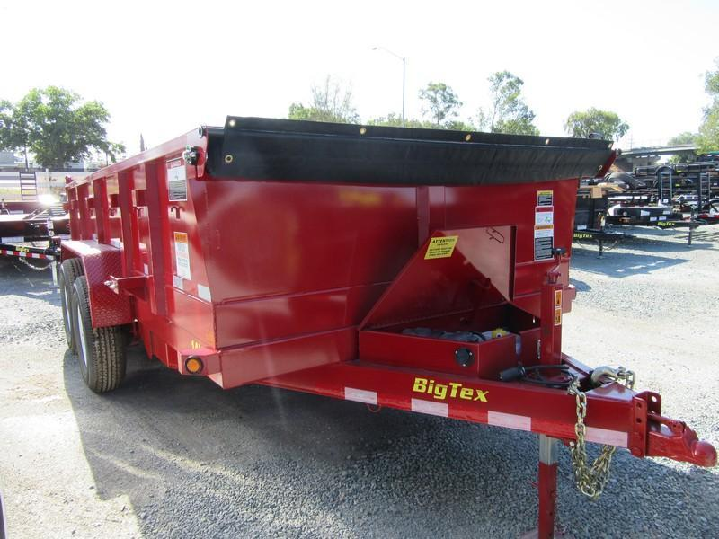 New 2017 Big Tex 14LX-14 14K GVW Dump Trailer VIN93708