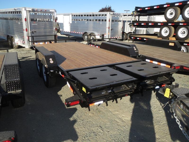 New 2018 Big Tex 14ET-18MR 7x18 14K GVW Equipment Trailer Vin:10802