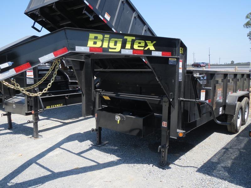 New 2017 Big Tex 14GX-16 Dump Trailer 7X16 14K VIN:72130