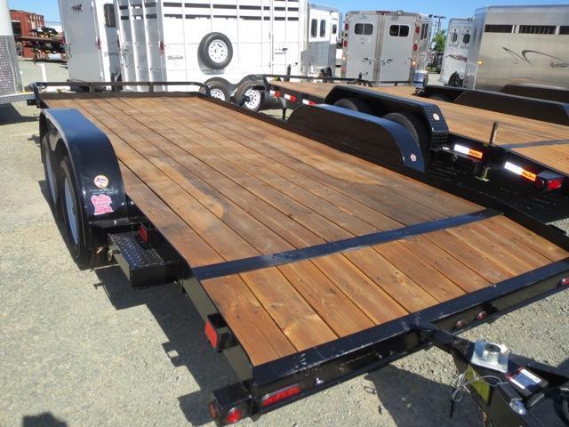 2017 Big Tex Trailers 70CH-18BRK2DT 7x18 7K GVW  Car/Racing Trailer Vin:37656